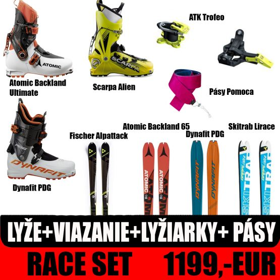 Race skialp set