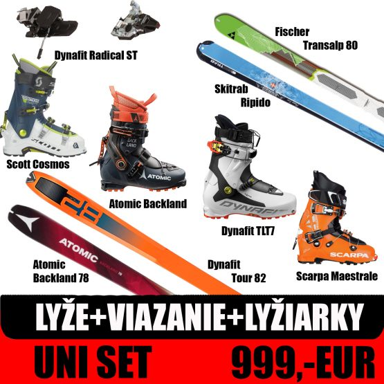 uni skialp set